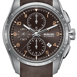 Đồng hồ Rado chính hãng dây da màu nâu - R32042305